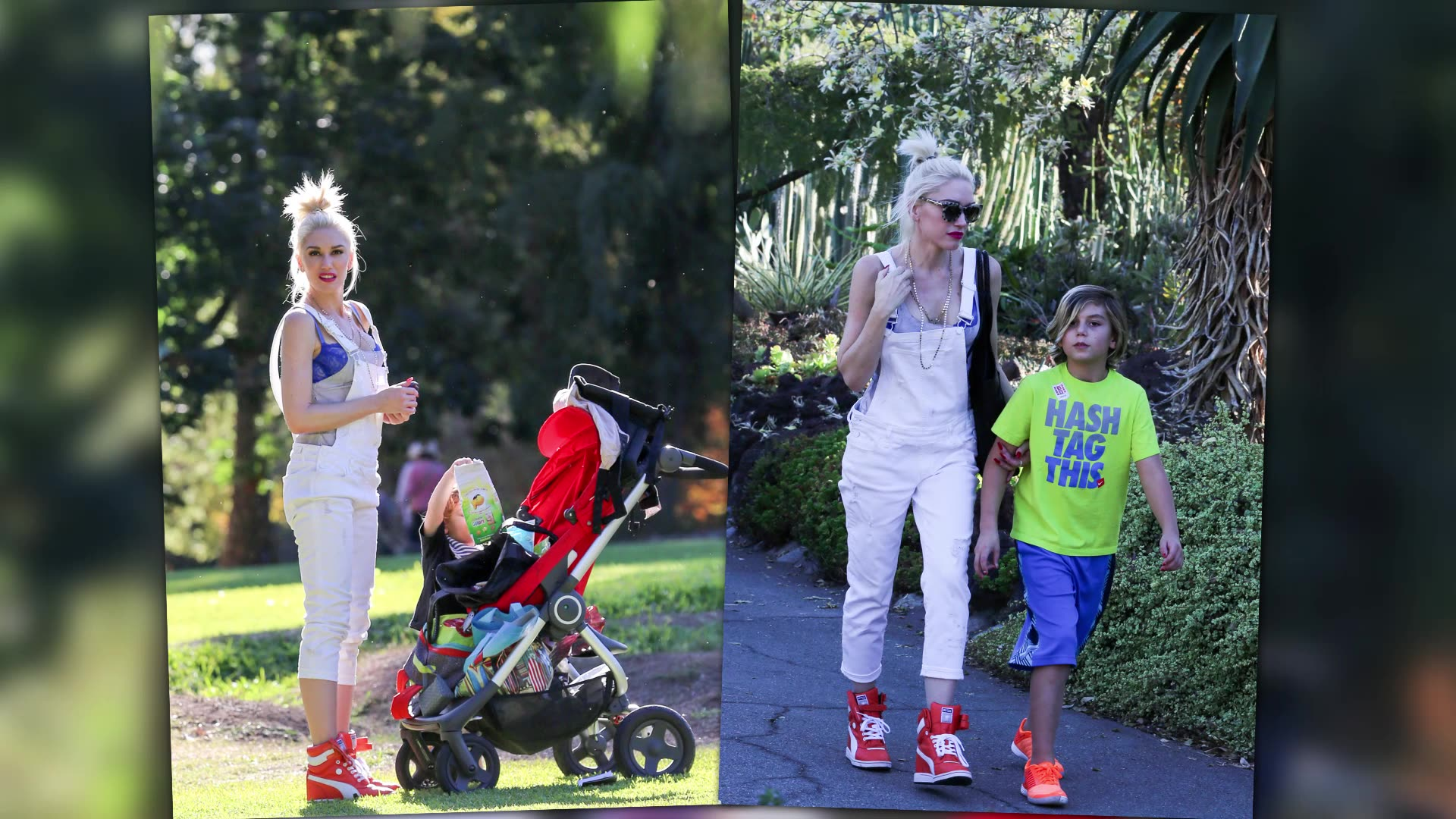 Gwen Stefani and Blake Shelton get some Serious Facetime!