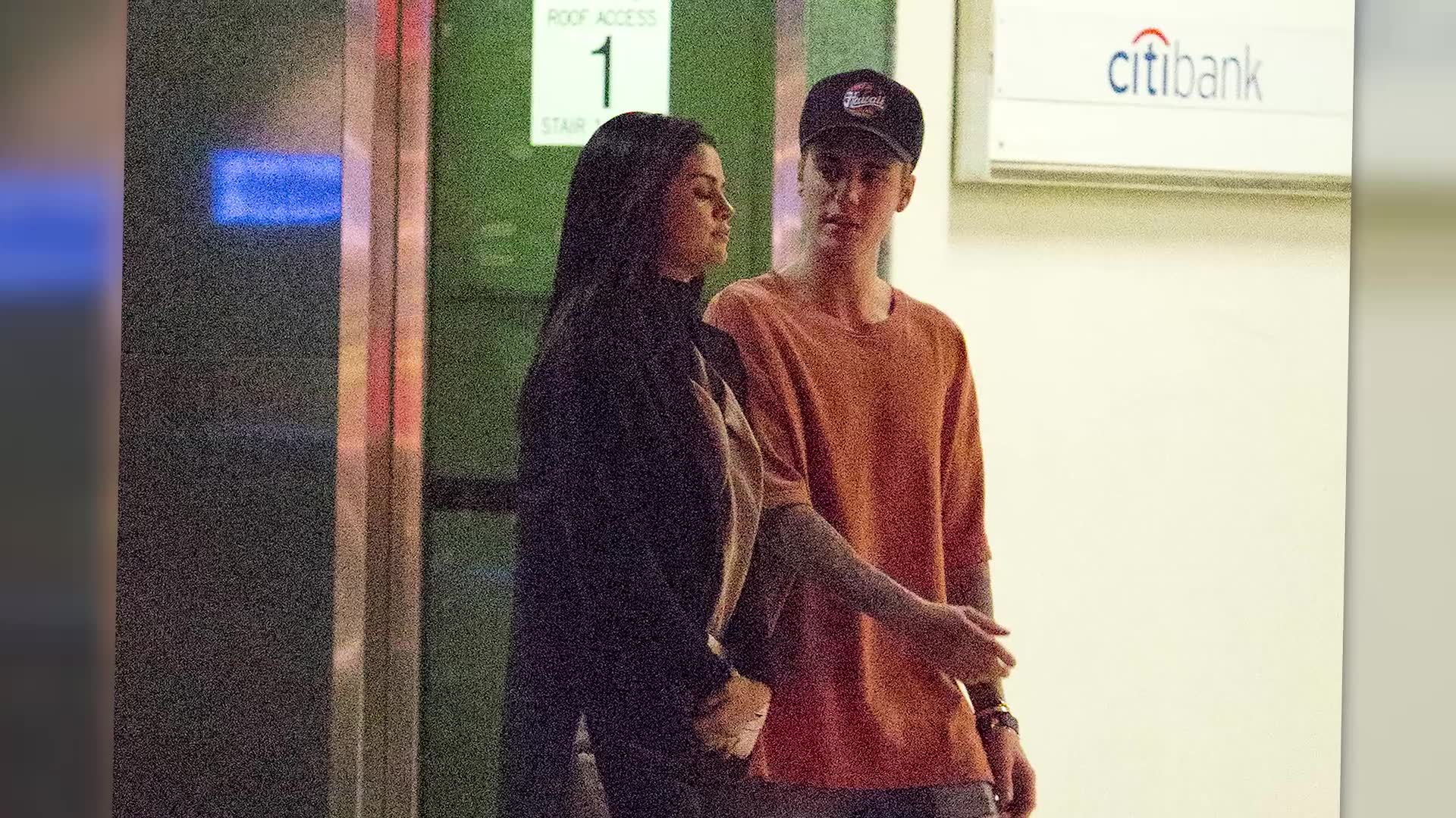 Justin Bieber and Selena Gomez Reunite in Beverly Hills