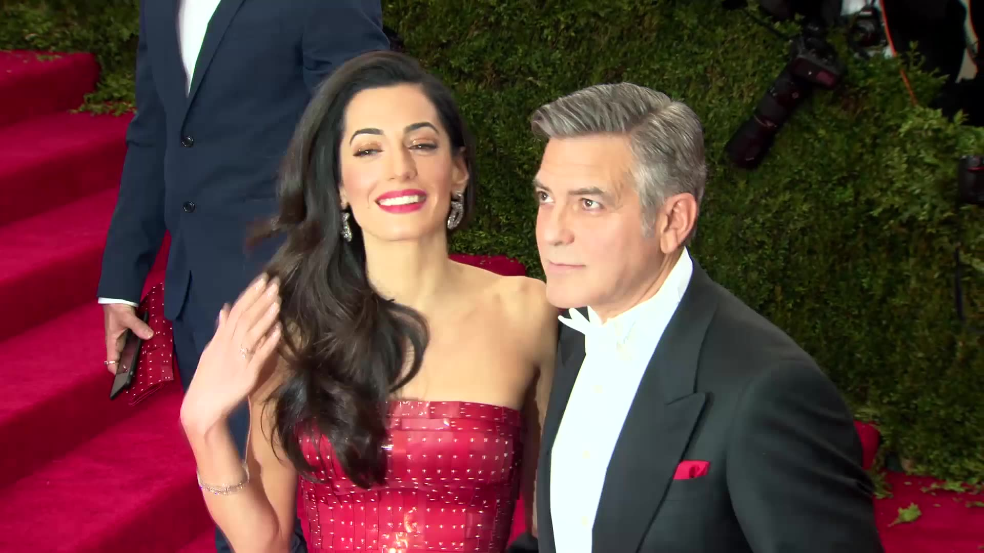 Amal Clooney to Ditch 7-Carat Diamond Ring For Work