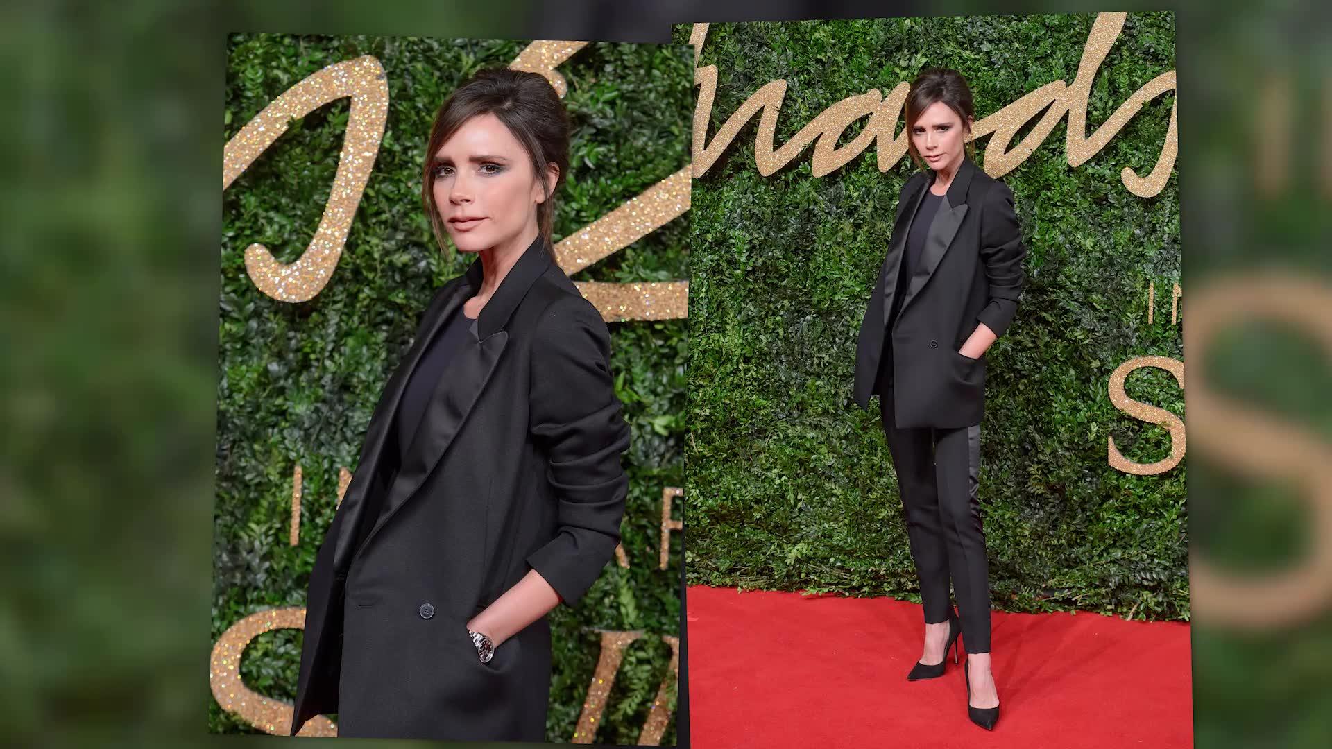 Victoria Beckham At The British Fashion Awards