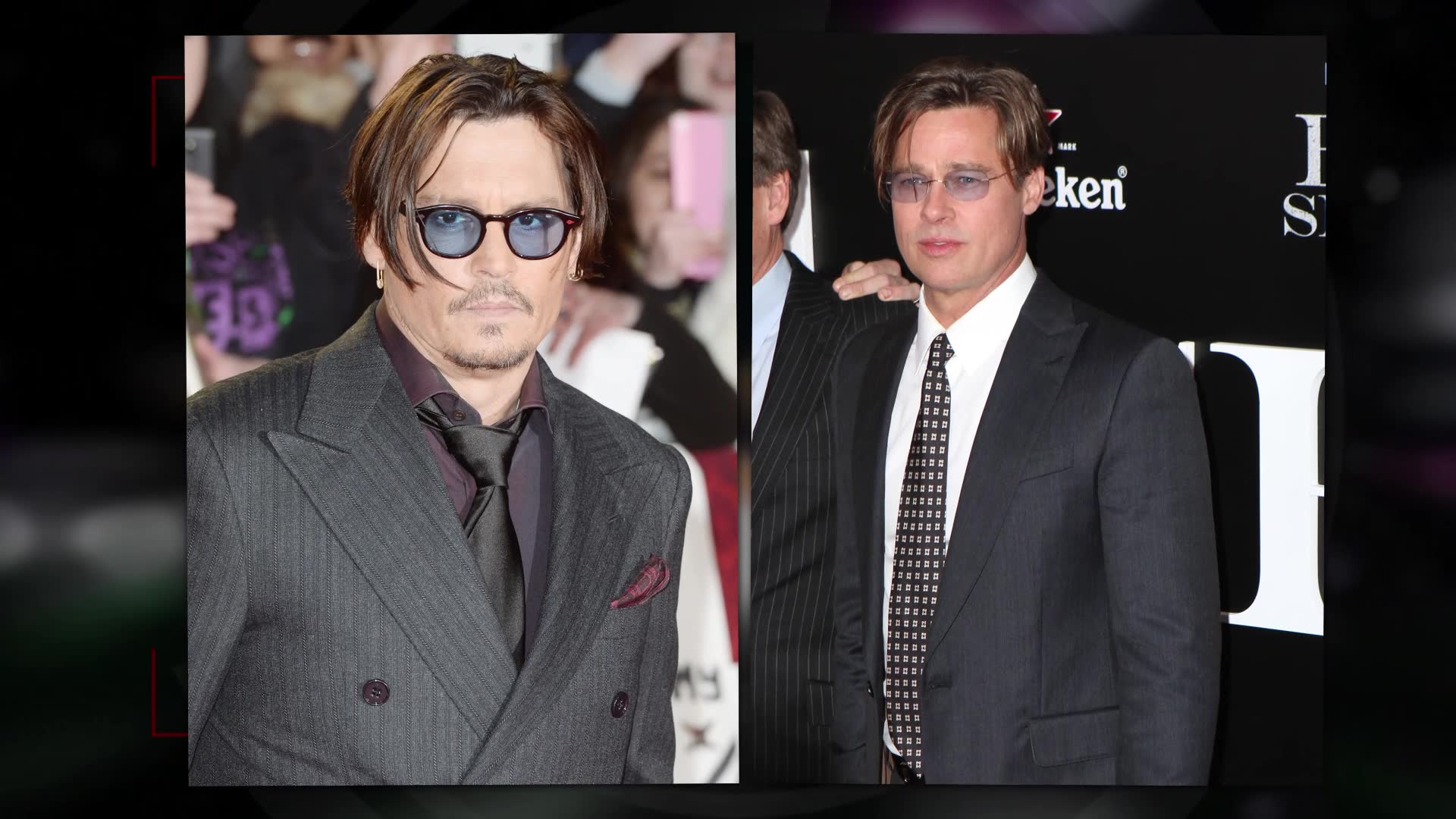 When Did Brad Pitt Become Johnny Depp?