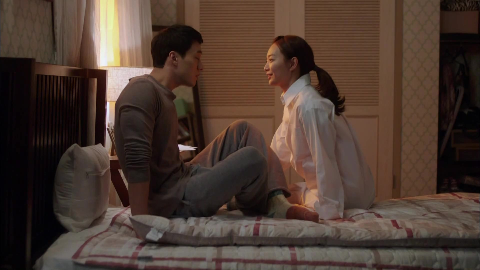 So Ji Sub and Shin Min Ah in Bed: Oh My Venus
