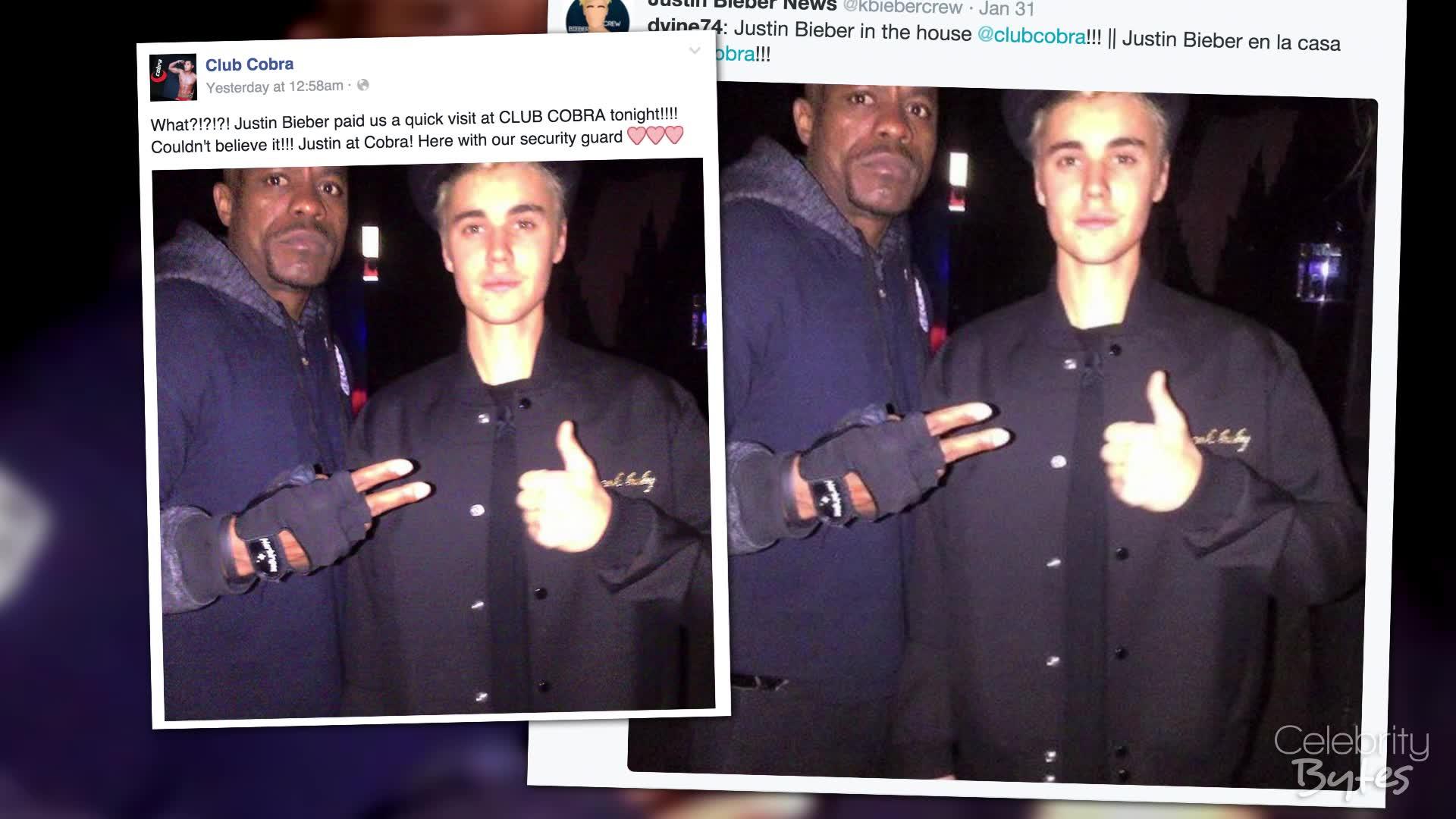 Justin Bieber Caught Solo at a Gay Bar