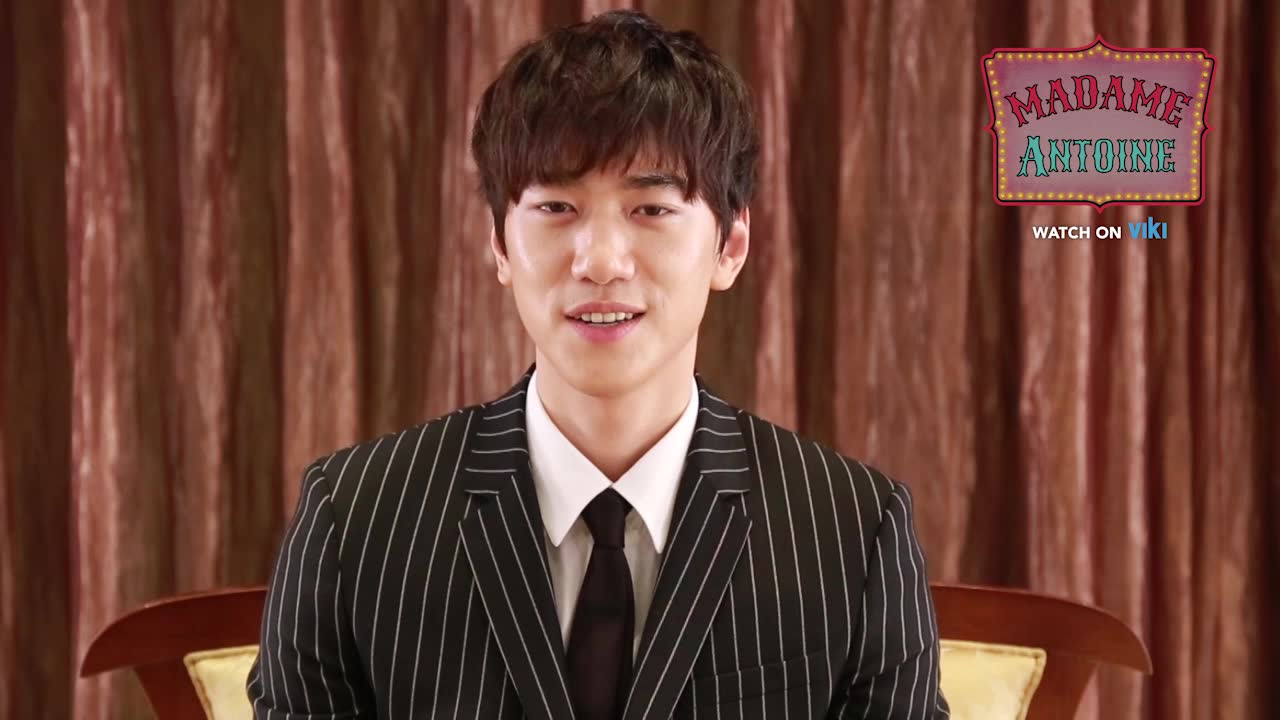 Sung Joon's Shoutout to Viki Fans in English!: Madame Antoine
