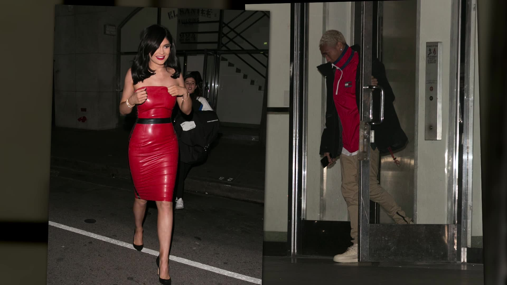 Kylie Jenner Confirms She Expects to Marry Tyga in Red Hot Dress
