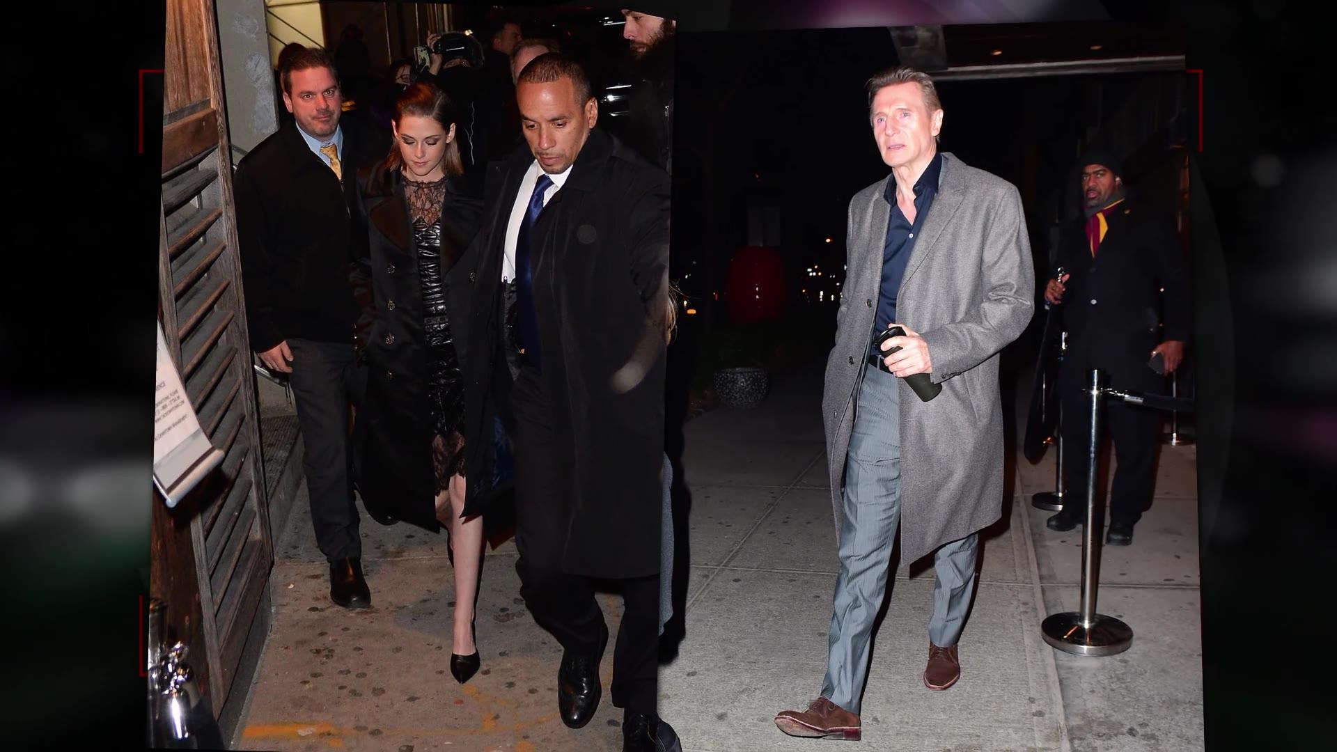 Report: Liam Neeson is Dating Kristen Stewart