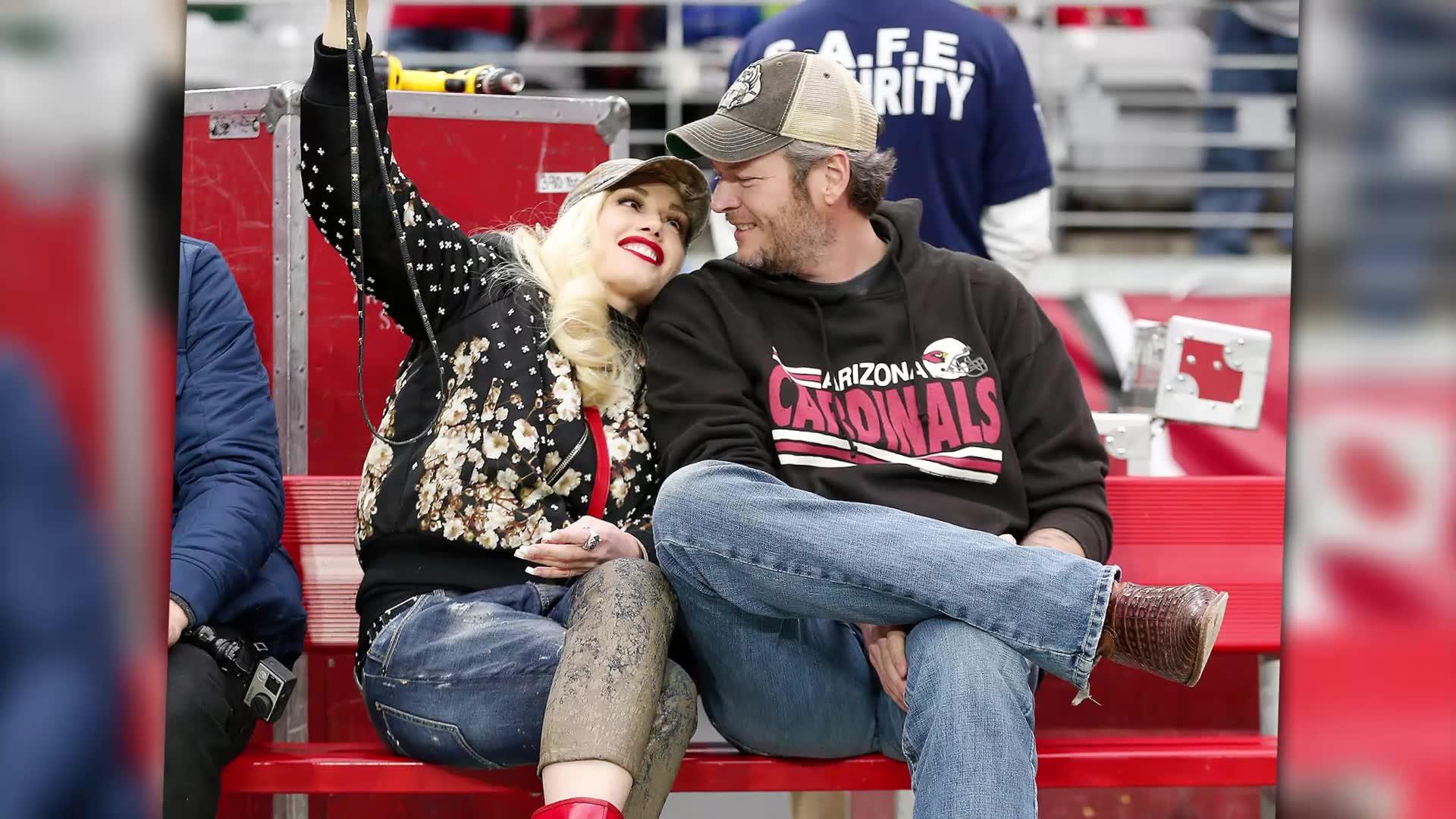 Gwen Stefani Loves Small Town Life with Blake Shelton