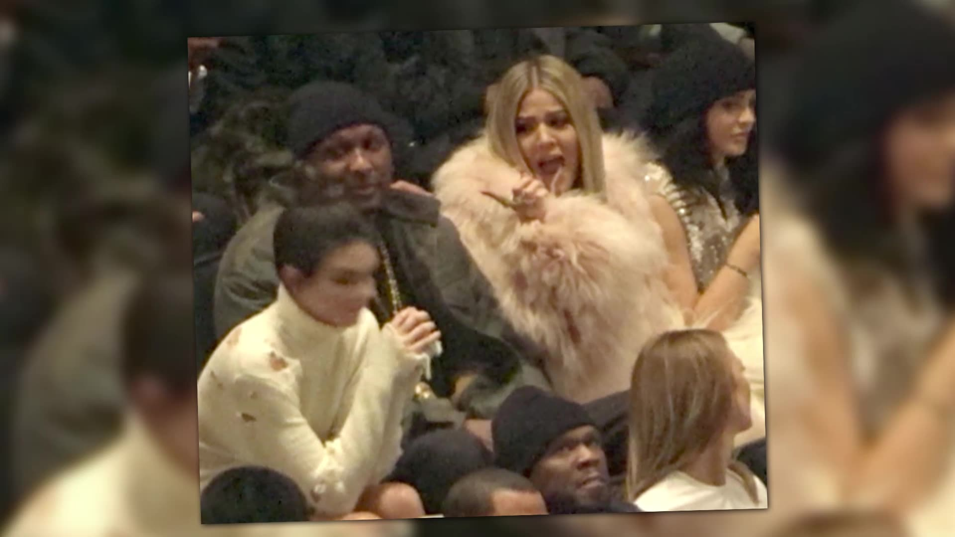 Khloe Kardashian Out with Lamar Odom at Yeezy Launch Party