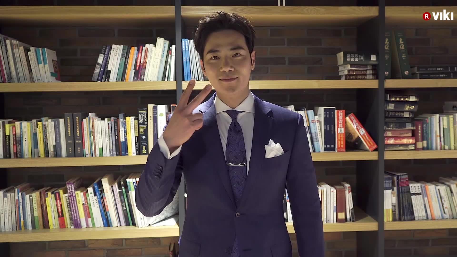 Kim Kang Woo's Shoutout to Viki Fans!: Goodbye Mr. Black