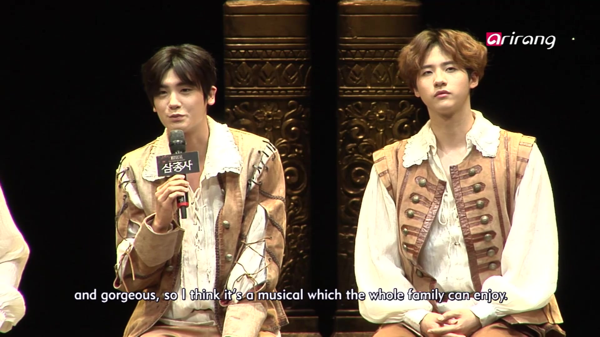 'The Three Musketeers' Press Conference