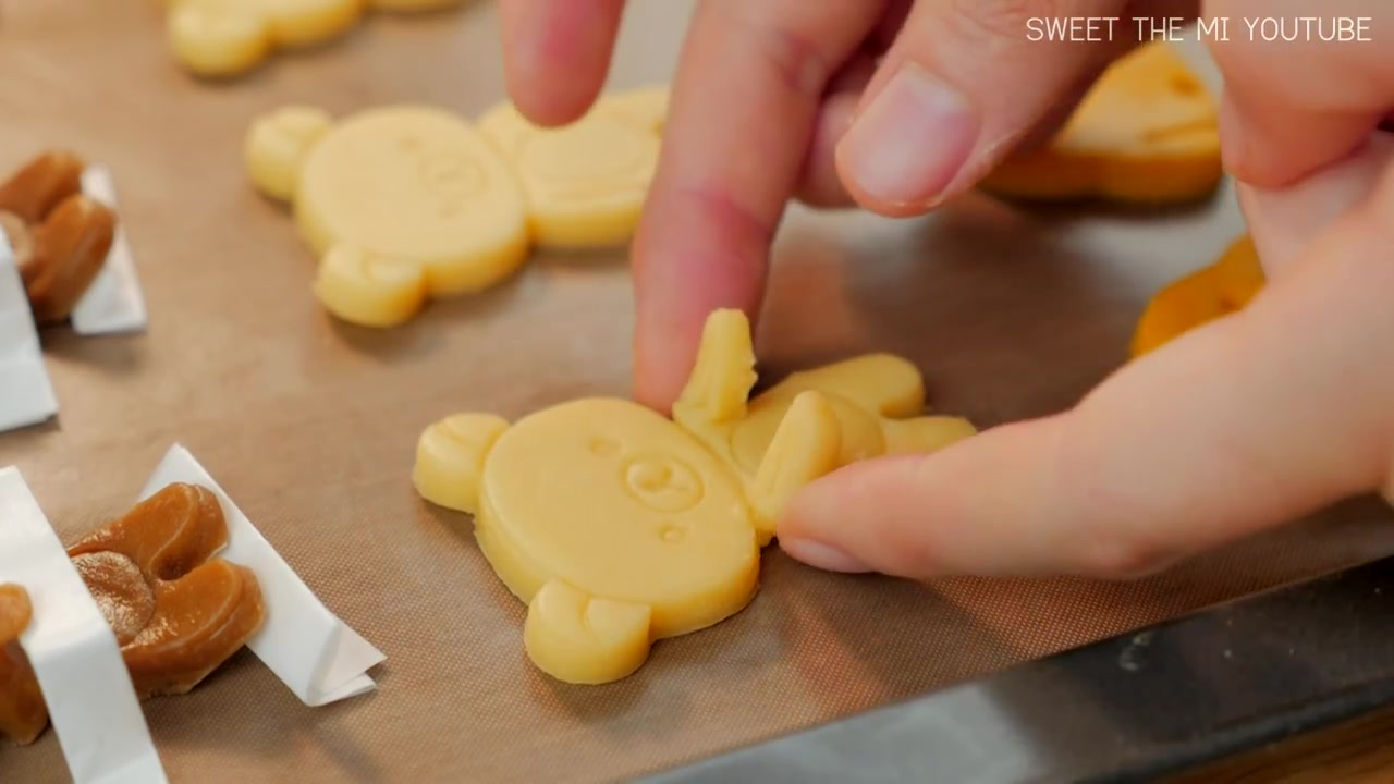 Sweet The MI Episode 1: FOOD VIDEO: Rilakkuma Cup Edge Cookies