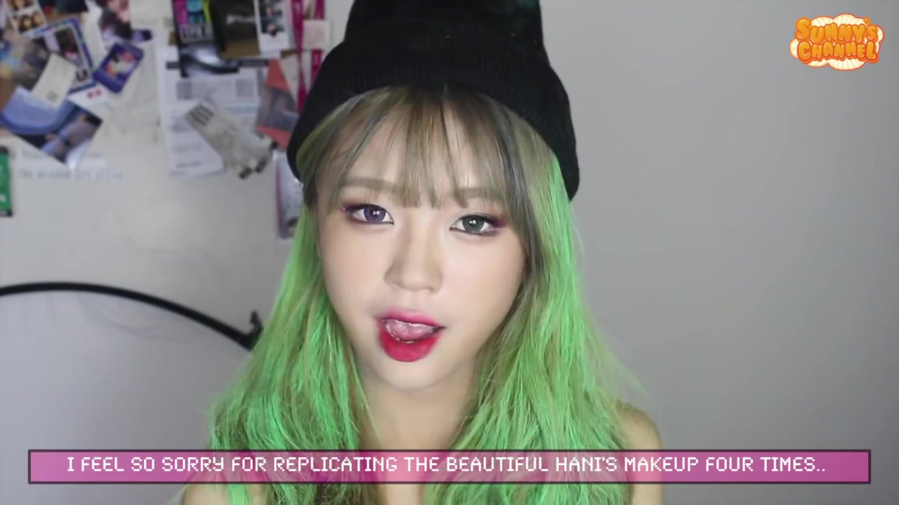 Sunny's Channel Episode 1: K-Pop Idol EXID Hani's Hot Pink-Inspired Makeup Tutorial