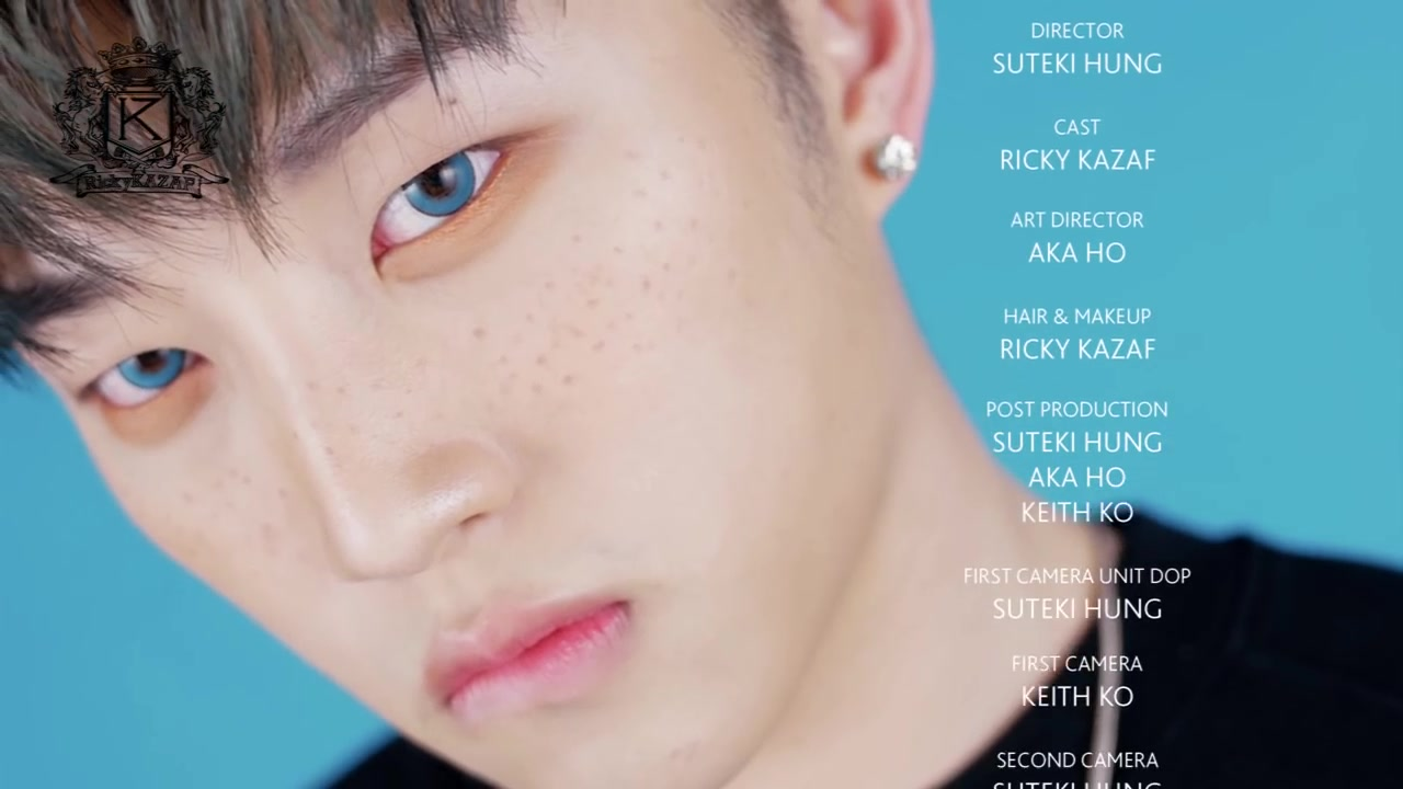 Ricky KAZAF Episode 1: K-Pop Idol VIXX Leo-Inspired Makeup Tutorial