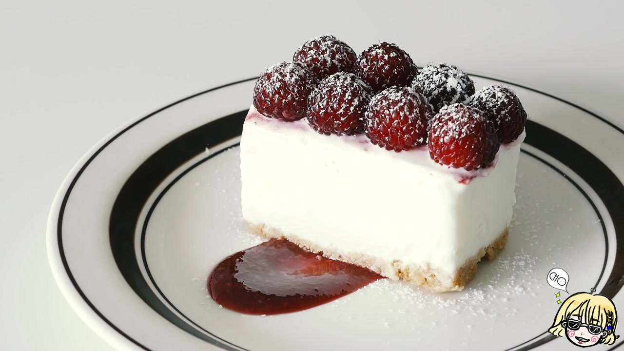 Cho's Daily Cook Episode 5: No-Oven Raspberry Cream Cheese Cake