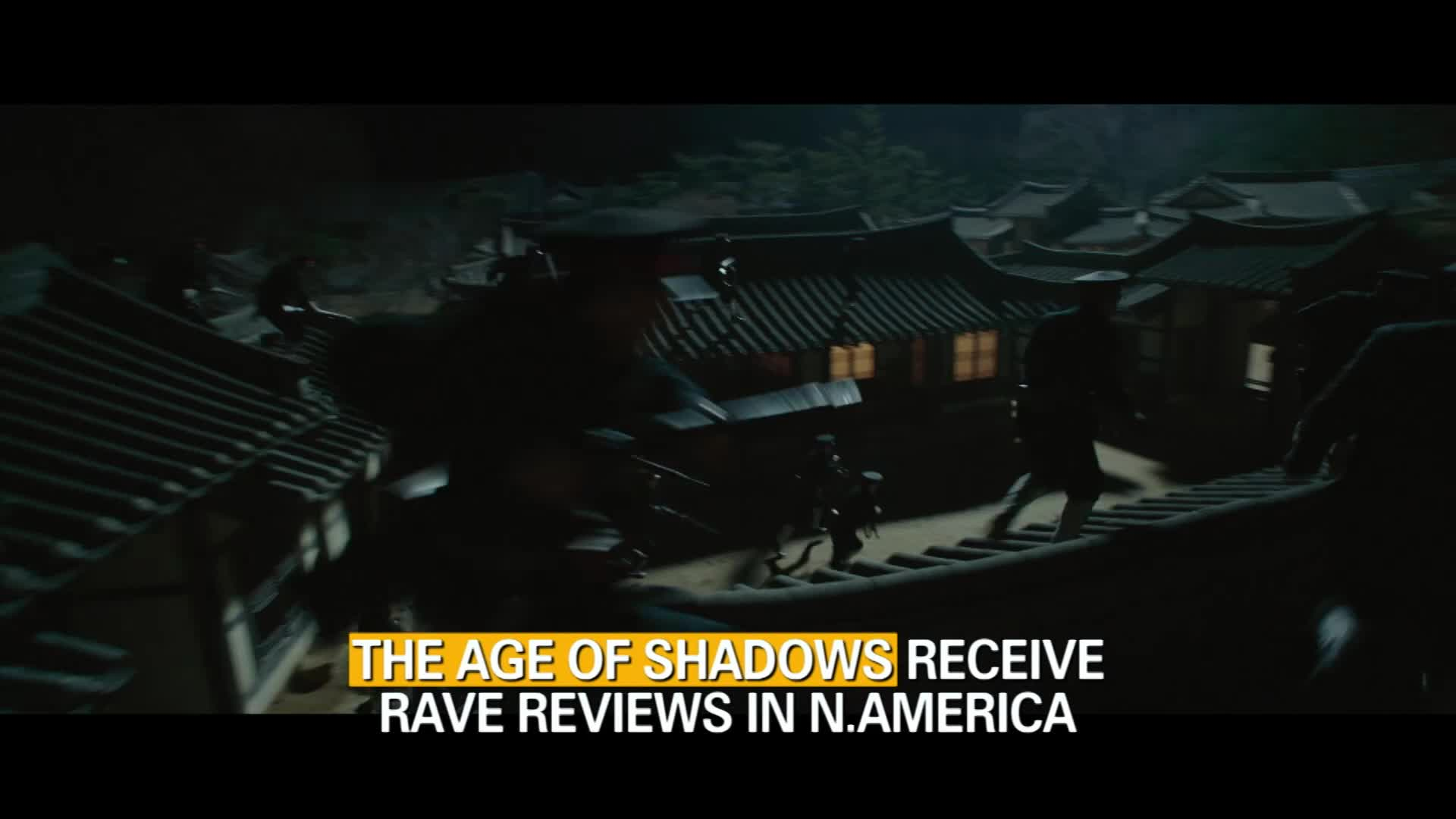 """The Age of Shadows"" Receive Rave Reviews in North America"
