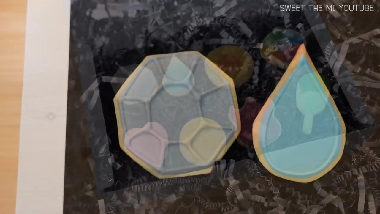 Sweet The MI Episode 45: Pokemon Gym Badges Cookies