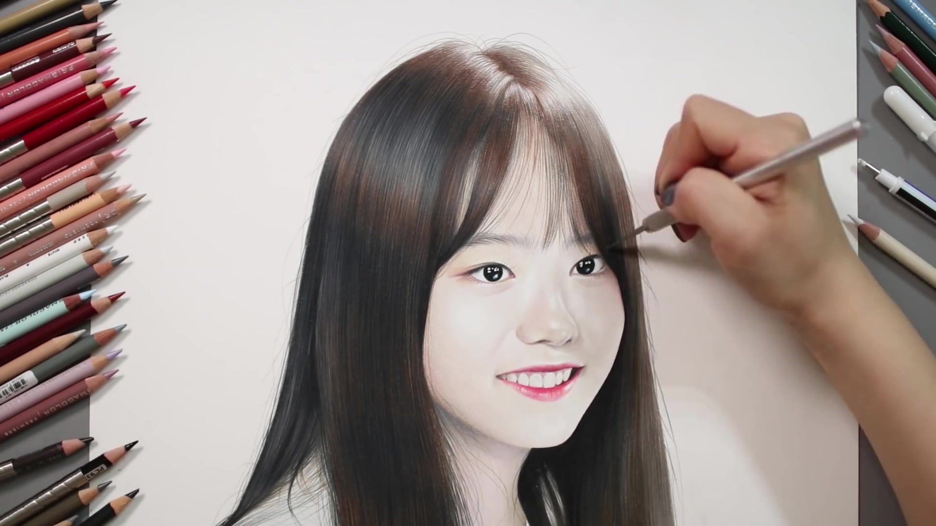 Drawing Hands Episode 40: Speed Drawing I.O.I's Sohye