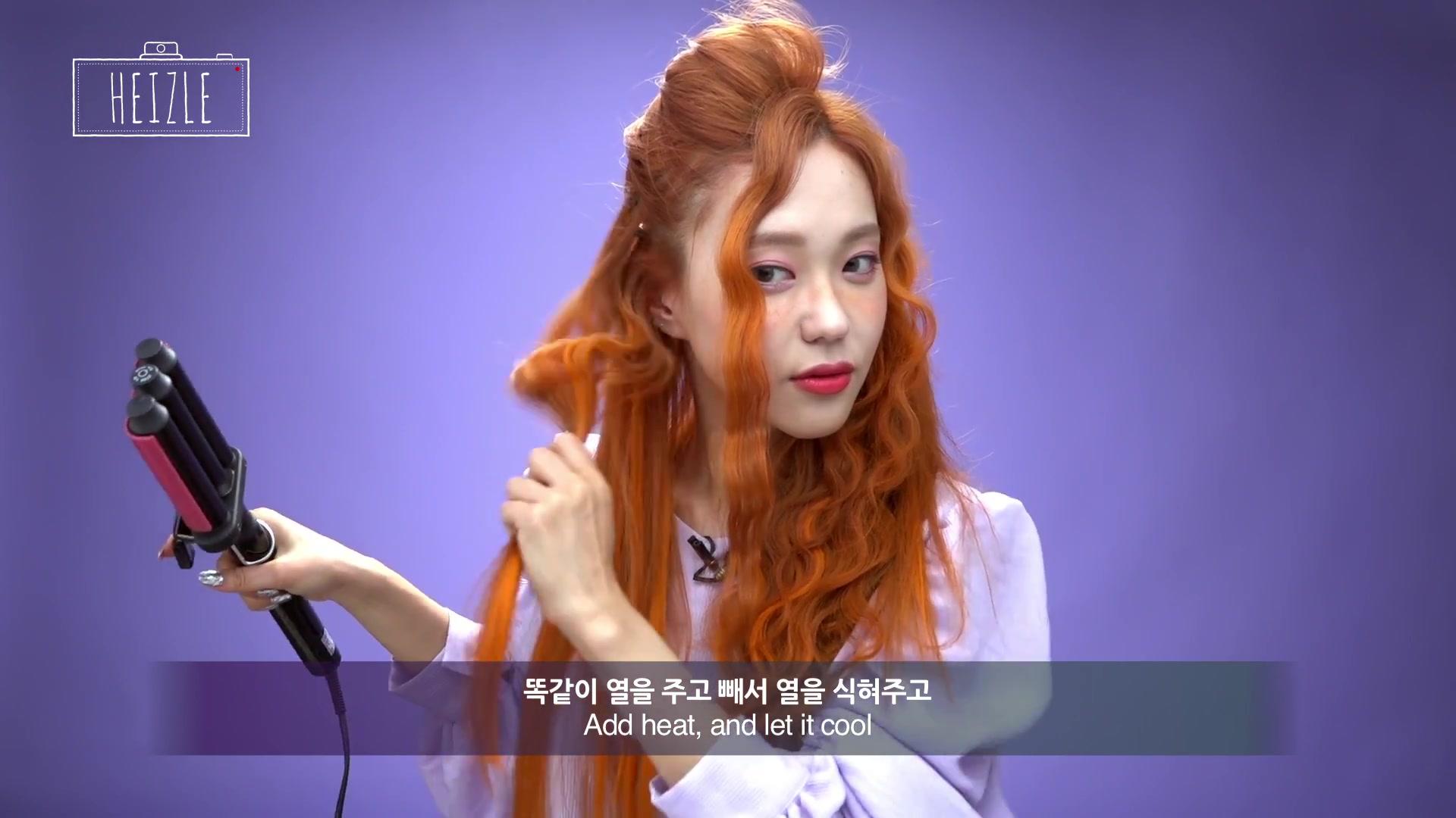 DIA TV Original: Heizle Episode 38: Easy Peasy 'Hippie Curly Hair' Using Heat Curler