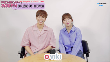 Exclusive Interview: Hongbin and Ki Joo Play a Chemistry Game: Wednesday 3:30 PM