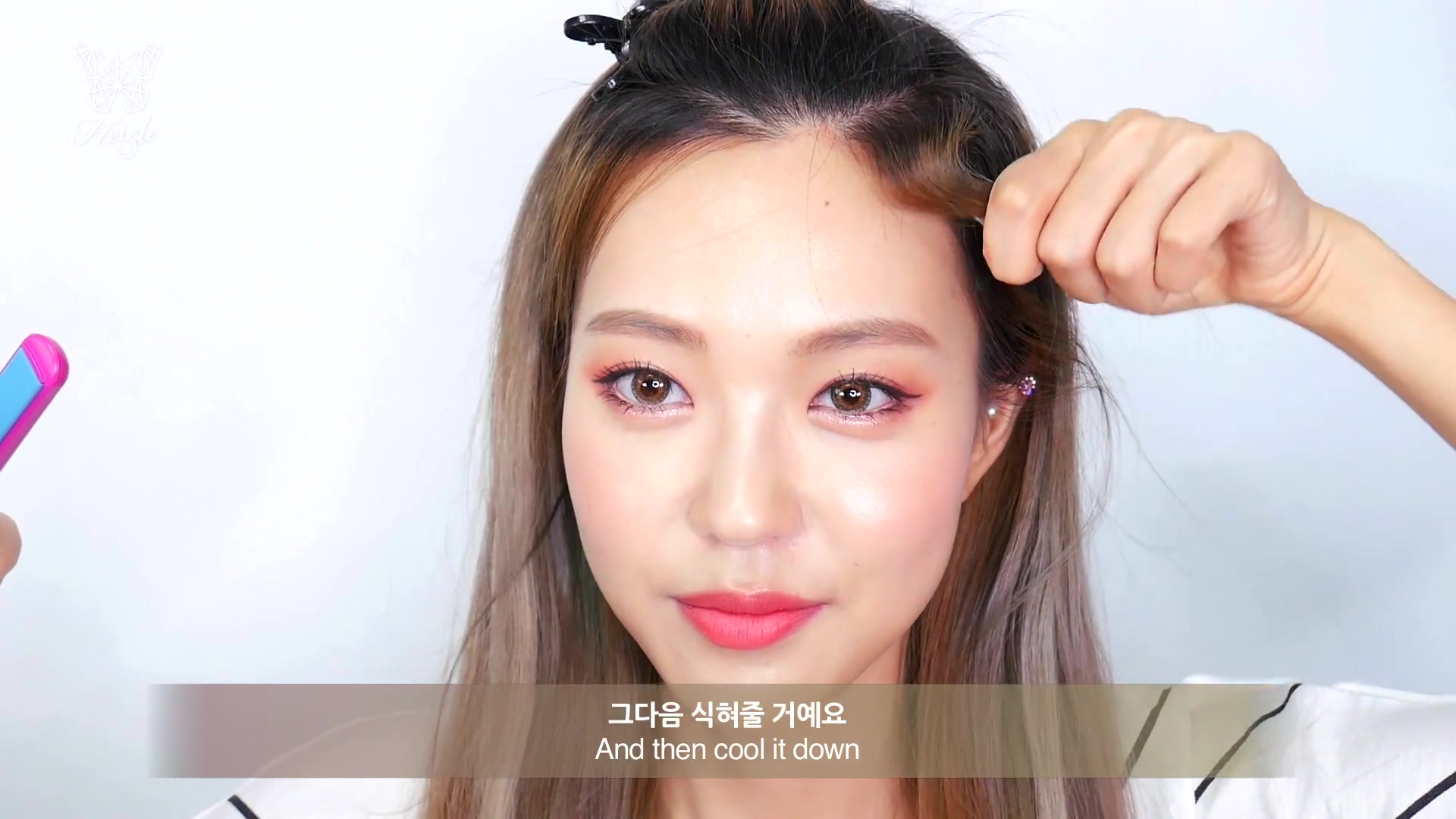 DIA TV Original: Heizle Episode 46: Cover-Up 'M-Shaped' Forehead With  Celeb-Style Baby Hair!