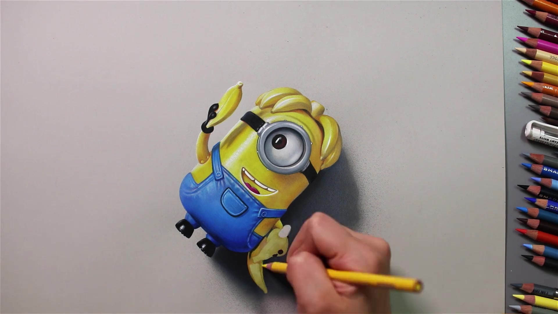 Drawing Hands Episode 50: Speed Drawing 'Despicable Me 3' Minion