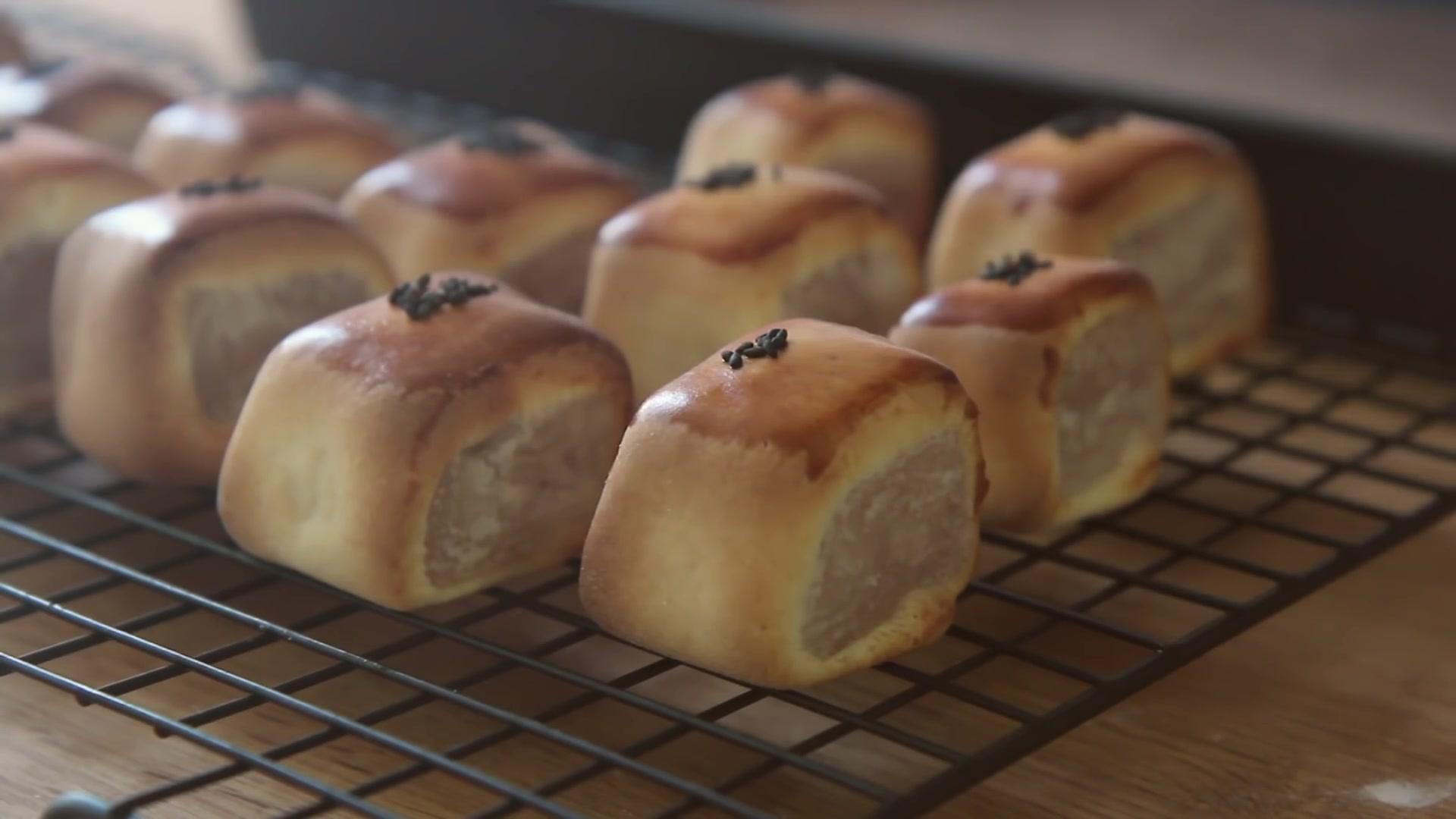 Honeykki Episode 140: Easy Manju Recipe (Sweet Buns With White Bean Paste)