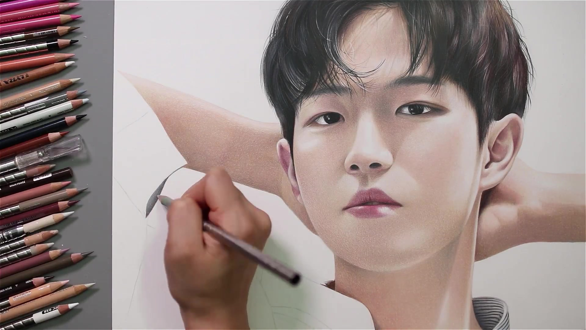 Drawing Hands Episode 52: Speed Drawing Wanna One's Kim Jae Hwan