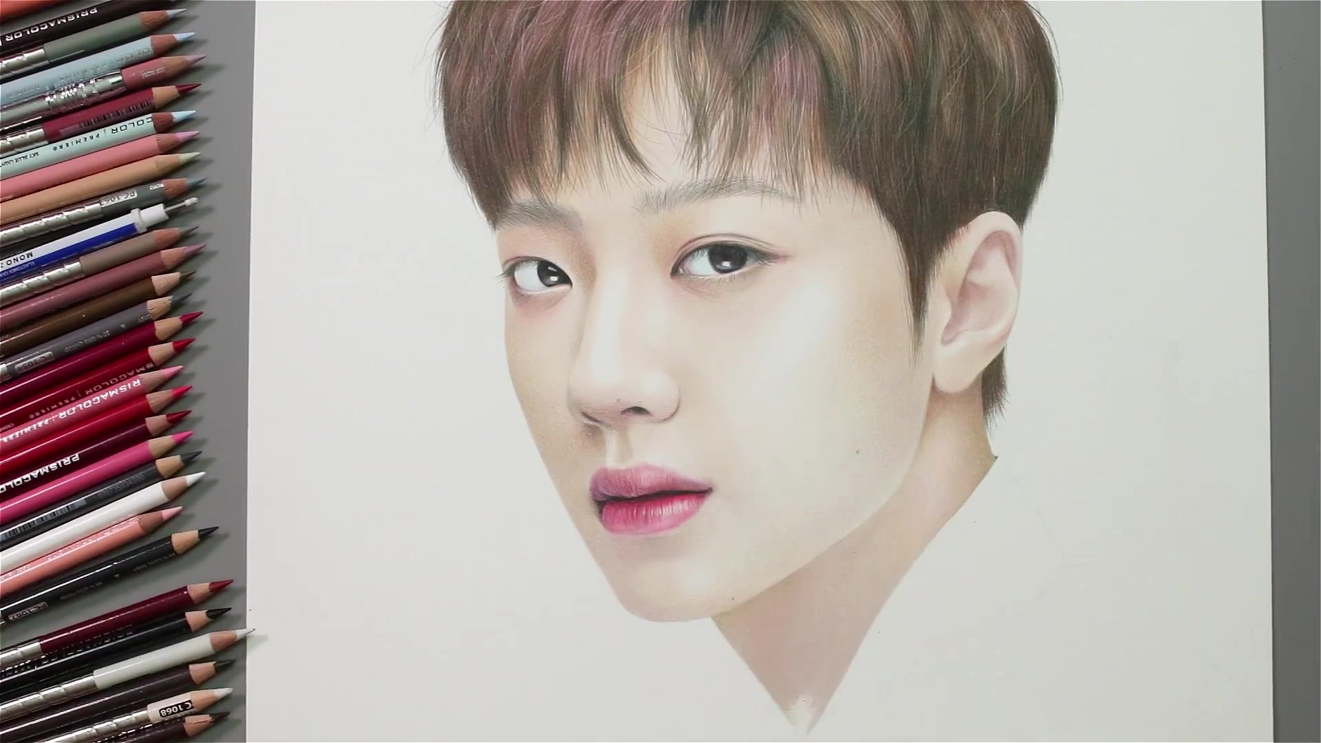 Drawing Hands Episode 58: Speed Drawing Wanna One's Lai Kuan Lin