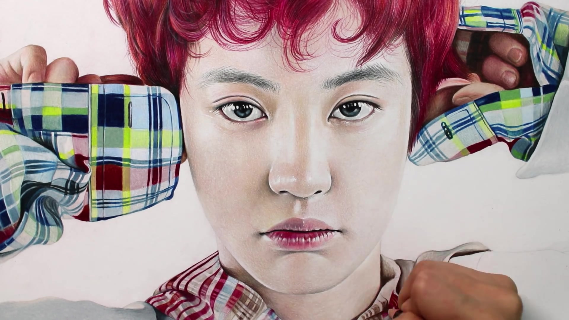 Drawing Hands Episode 62: Speed Drawing EXO's Chanyeol