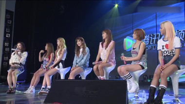 Tencent K-Pop Live Episode 1: Apink, Hello Venus, Playback