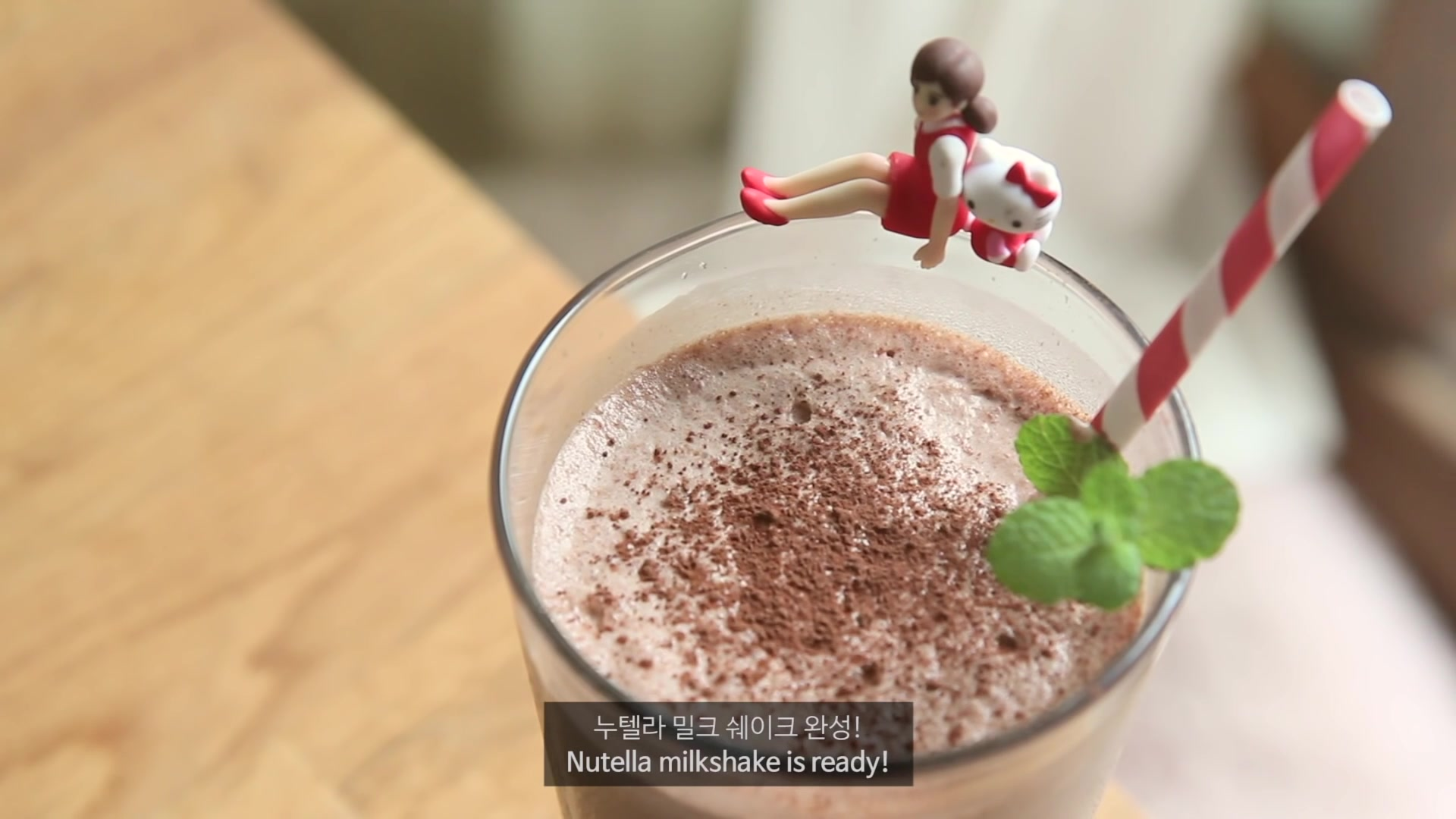 Honeykki Episode 154: Nutella Milkshake
