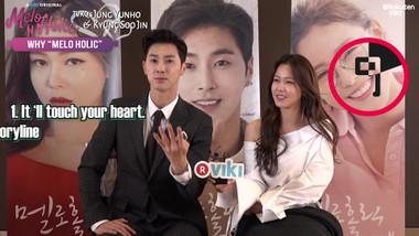 Jung Yunho & Kyung Soo Jin Answer Fan Questions: Melo Holic