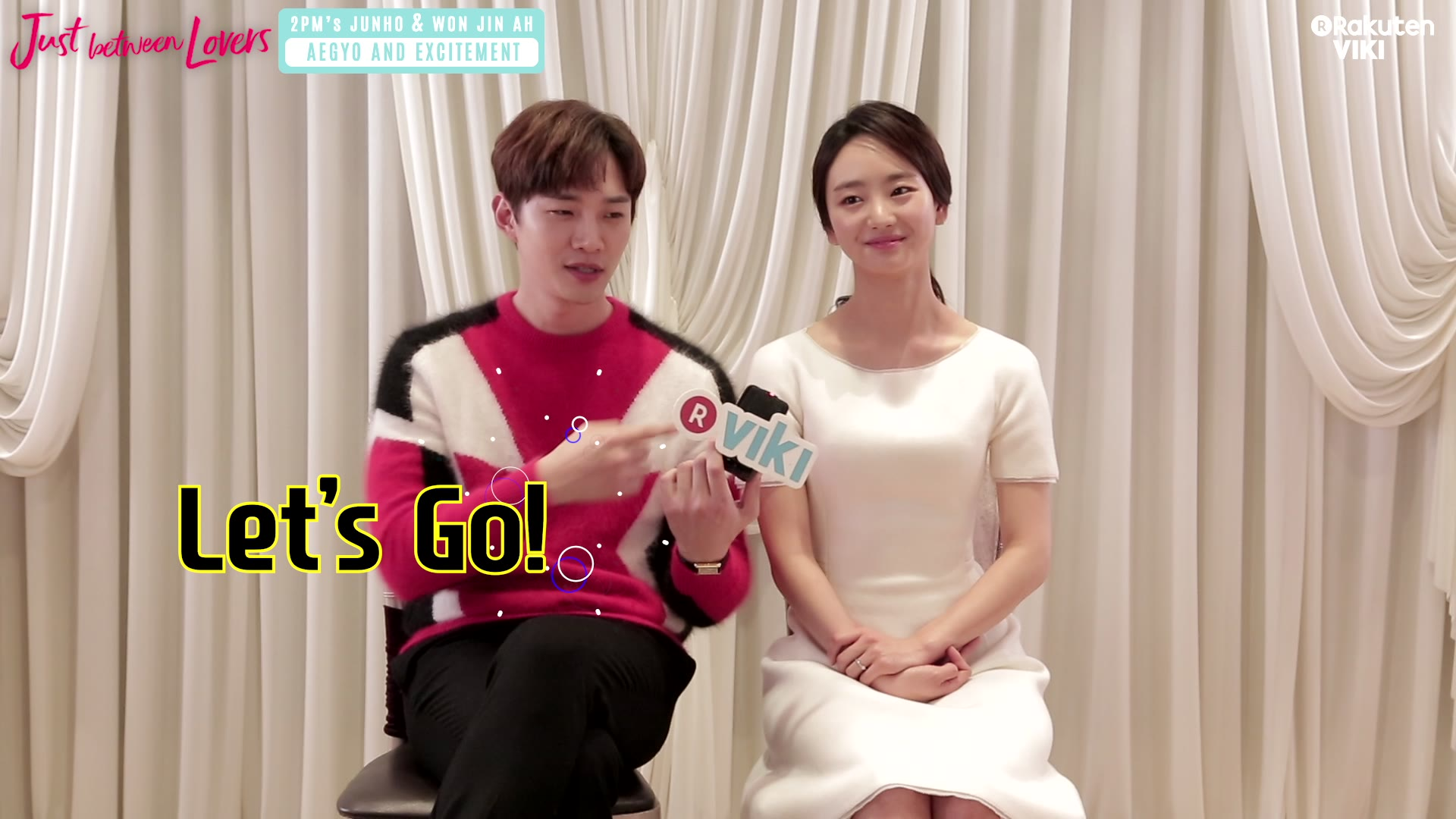 Junho and Won Jin Ah's Aegyo: Just Between Lovers