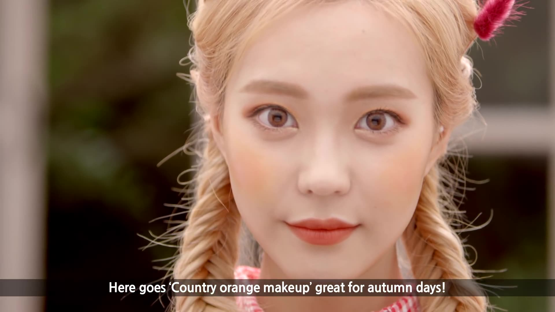 DIA TV Original: Heizle Episode 100: Country Orange Makeup