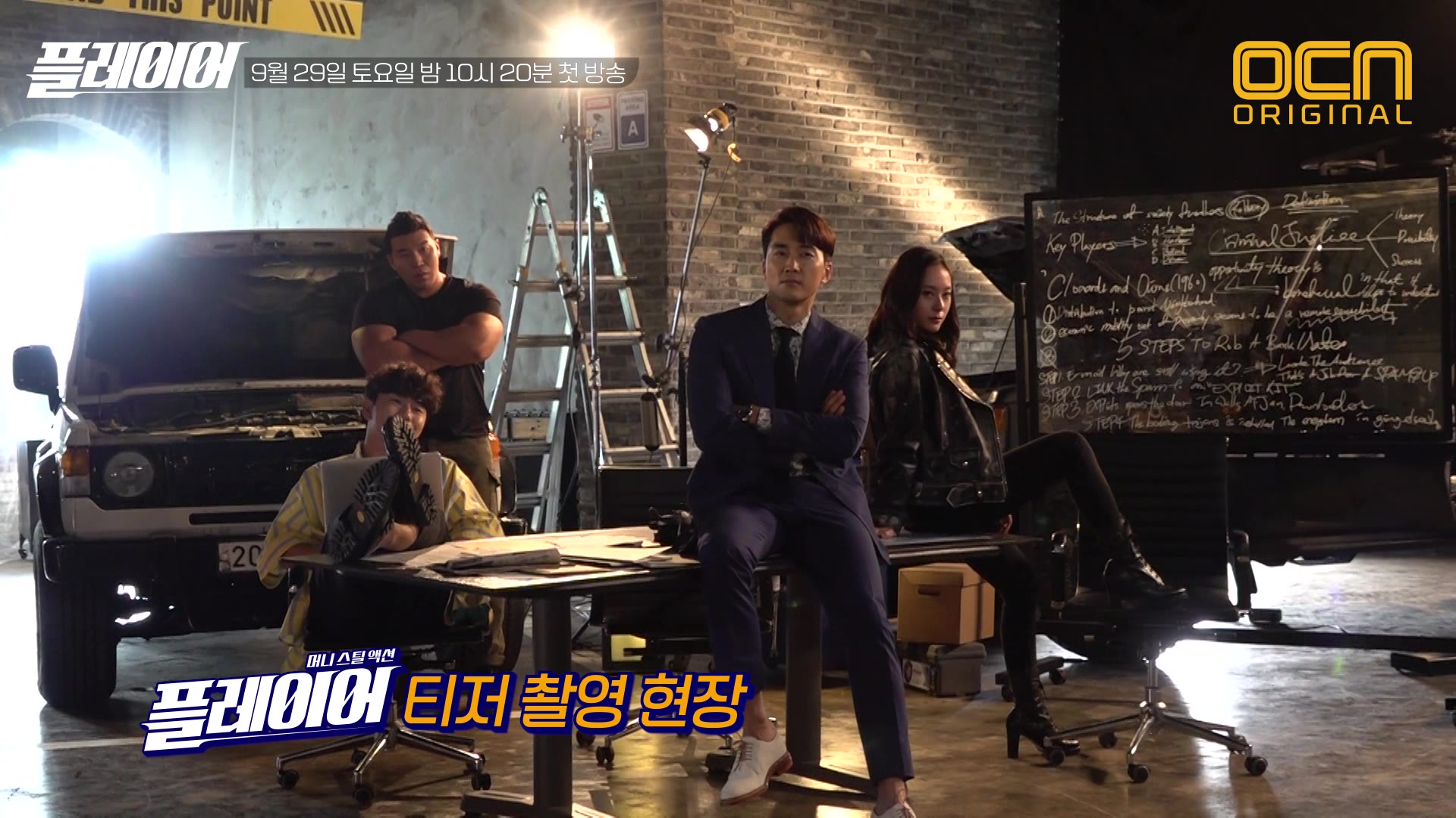 Behind The Scenes 3: Teaser & Poster Filming: The Player