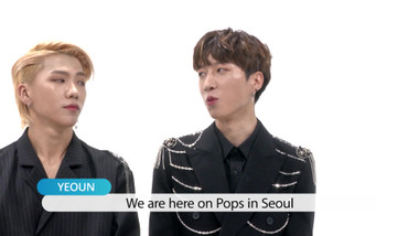 Pops in Seoul Episode 4056: Give Me Dat! ARGON(아르곤)'s Off-Stage Dance